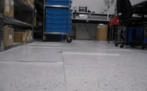 curling floor tiles